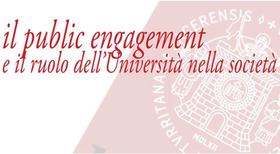 il Public Engagement e il ruolo dell'Università nella società